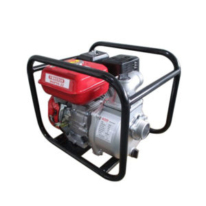 Motobomba extracción de agua